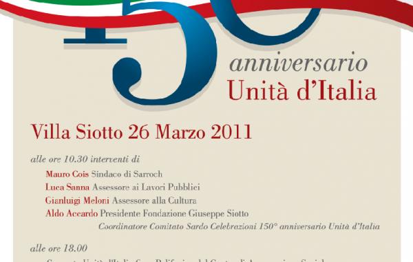 Celebrazione 150°anniversario unita' d'Italia