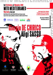 mito mediterraneo de Chirico ed Aligi Sassu